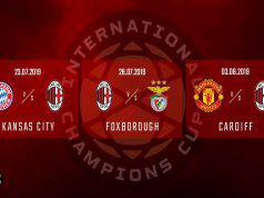 Calendario Milan International Champions Cup 2019