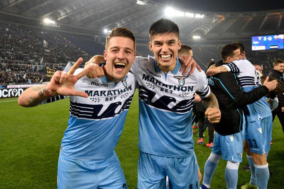 Milinkovic Savic e Correa
