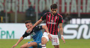 Lucas Paquetà Ismael Benaccer Milan Empoli
