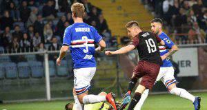 Piatek Sampdoria-Milan