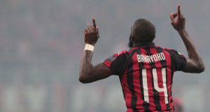 Tiémoué Bakayoko Milan Inter