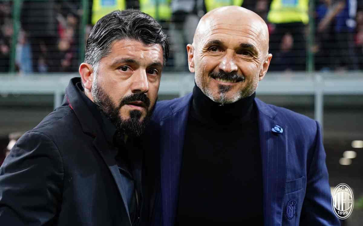 Gattuso e Spalletti