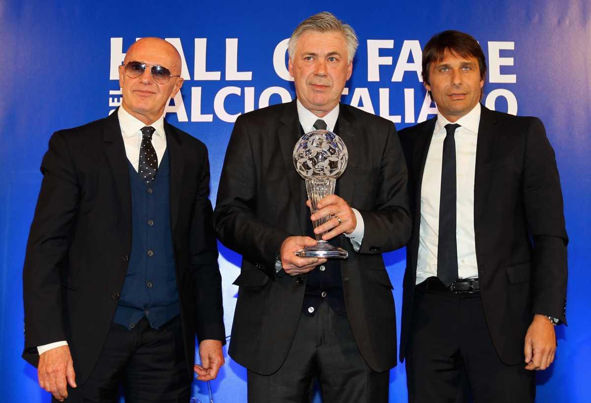 Arrigo Sacchi Carlo Ancelotti Antonio Conte