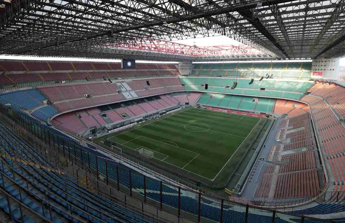San Siro Giuseppe Meazza Stadio