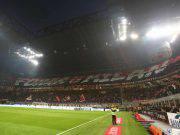 Scenografia Curva Sud Milan-Lazio