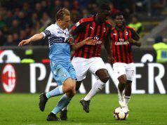 Cristian Zapata in Milan-Lazio