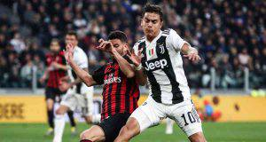 Mateo Musacchio Paulo Dybala Juventus Milan