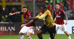 Lucas Biglia Stefano Okaka Milan Udinese