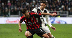 Fabio Borini Mattia De Sciglio Juventus Milan