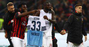 Franck Kessie Tiemoué Bakayoko Francesco Acerbi Milan Lazio