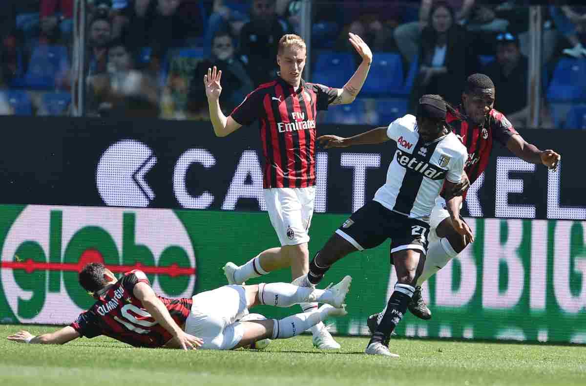 Parma Milan
