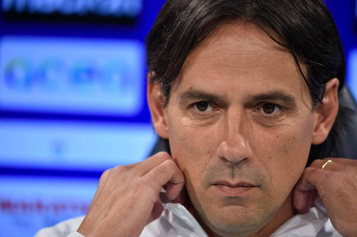 Simone Inzaghi conferenza stampa Milan Lazio