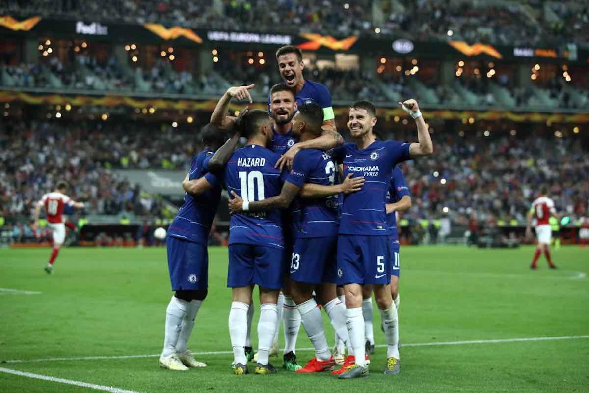 Europa 4 Trofeo 1Primo Per LeagueChelsea Sarri Arsenal PkTXZuOi