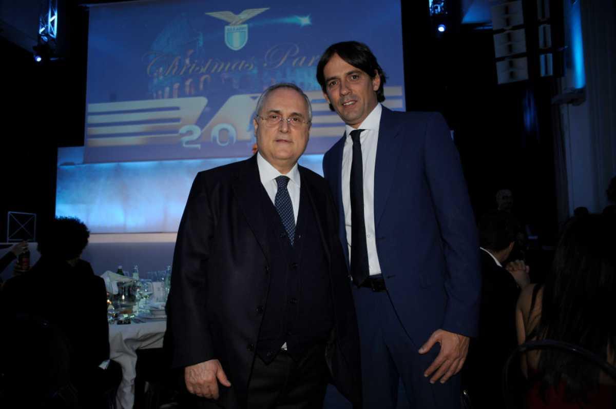 Simone Inzaghi Claudio Lotito