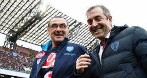 Maurizio Sarri e Marco Giampaolo