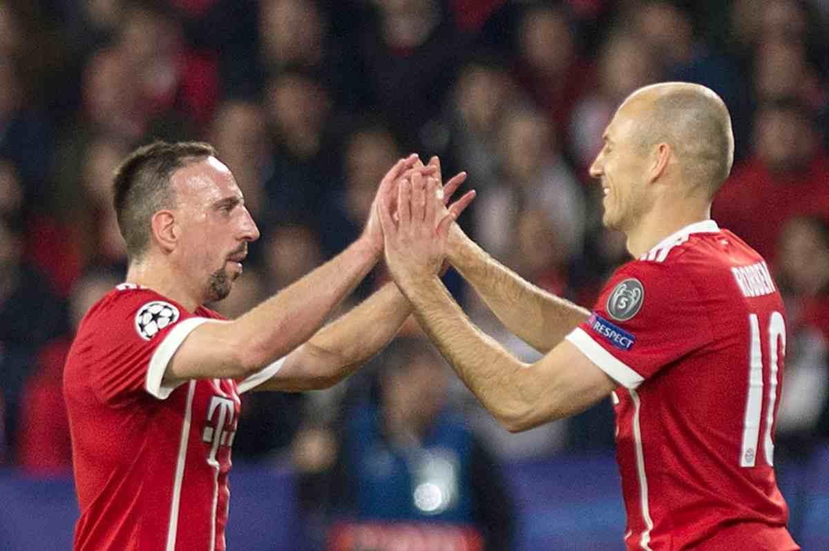 Franck Ribery Arjen Robben