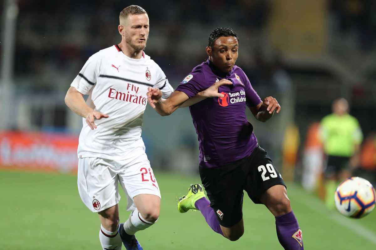 Ignazio Abate Luis Muriel AC Milan