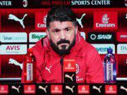 Gennaro Gattuso conferenza stampa AC Milan Milanello