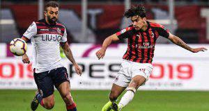 Lucas Paquetà Milan Bologna