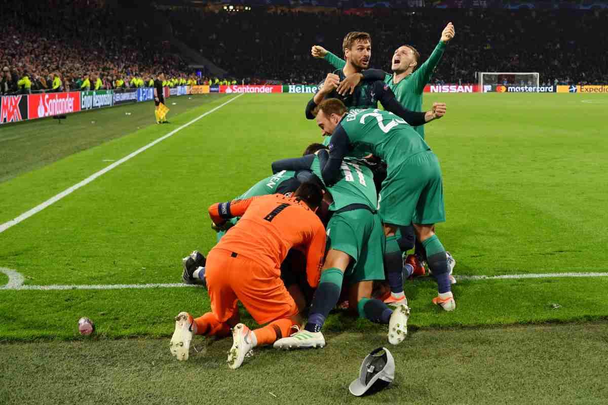 Ajax Tottenham Champions League