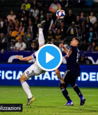 MLS Ibrahimovic Los Angeles Galaxy