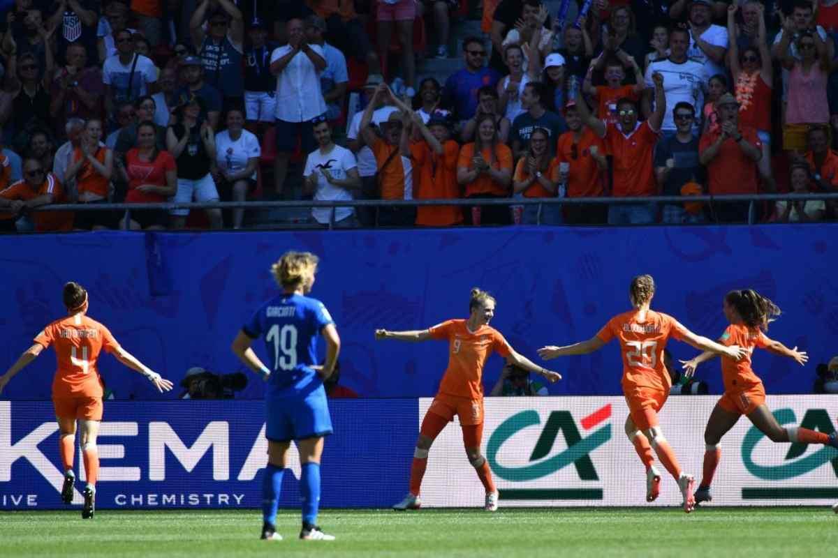 Mondiale Femminile, Italia Olanda