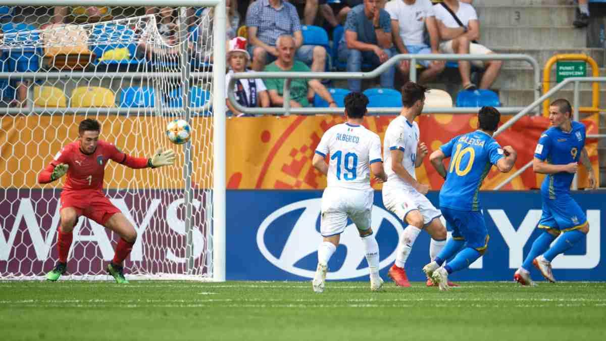 Mondiale Under-20 Ucraina-Italia