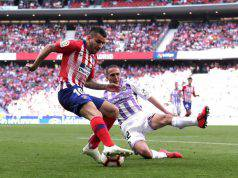 Angel Correa in Atlético Madrid-Real Valladolid