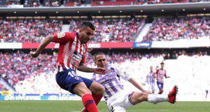 Angel Correa in Atlético Madrid-Real Valladolid