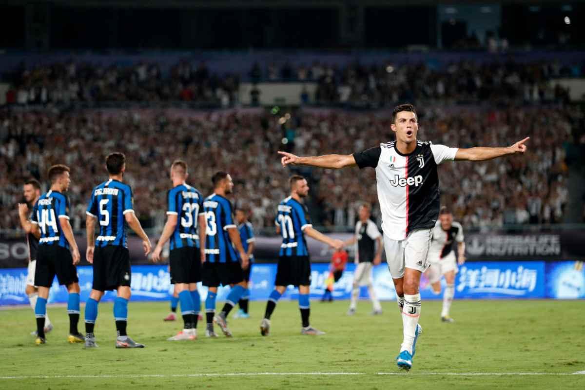 Cristiano Ronaldo Juventus-Inter