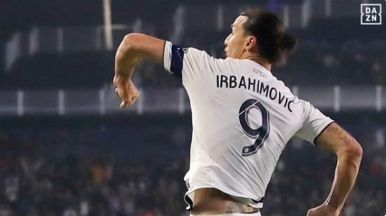 MLS, Ibrahimovic segna un'altra doppietta... ma con il nome sbagliato