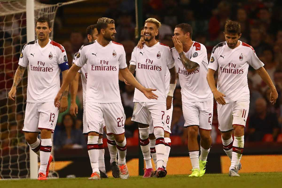 Amichevole Manchester United-Milan