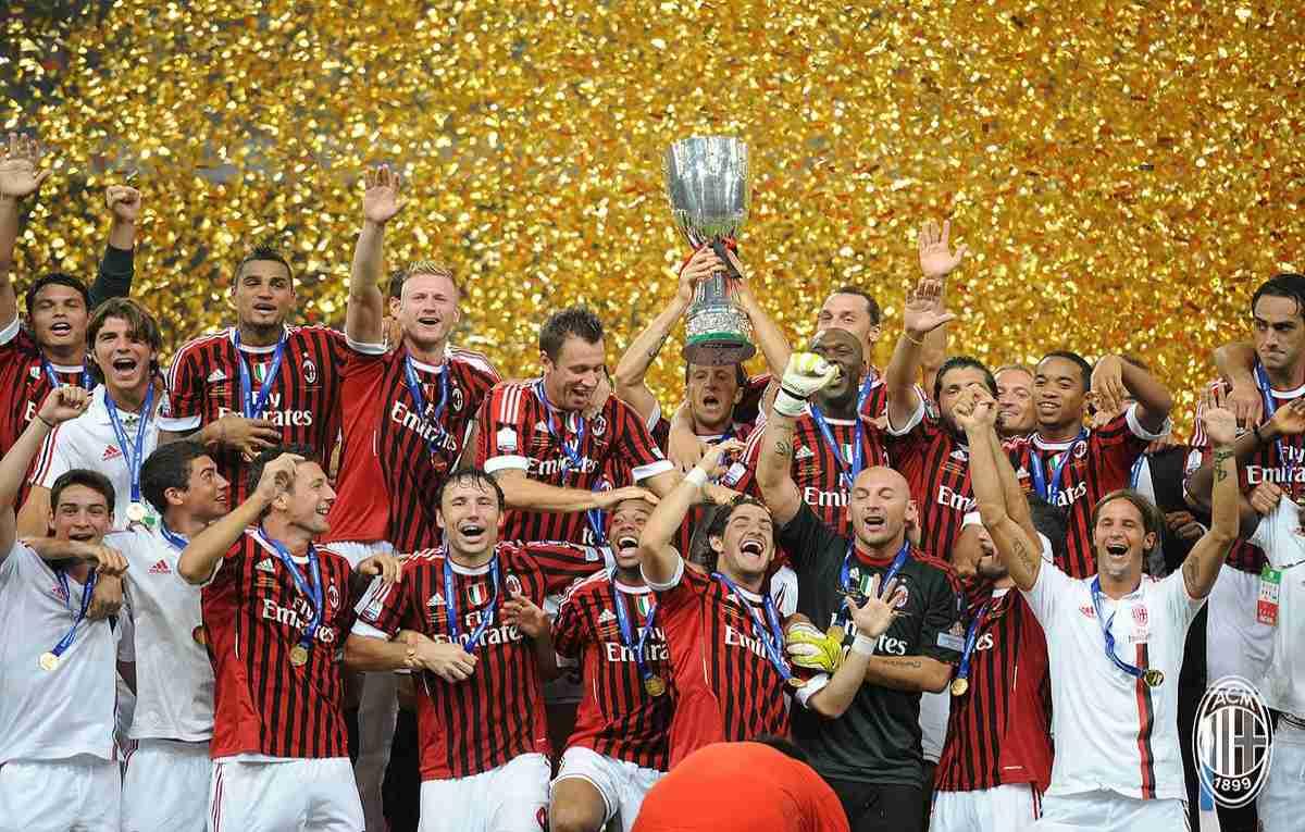 ac milan supercoppa italiana 2011