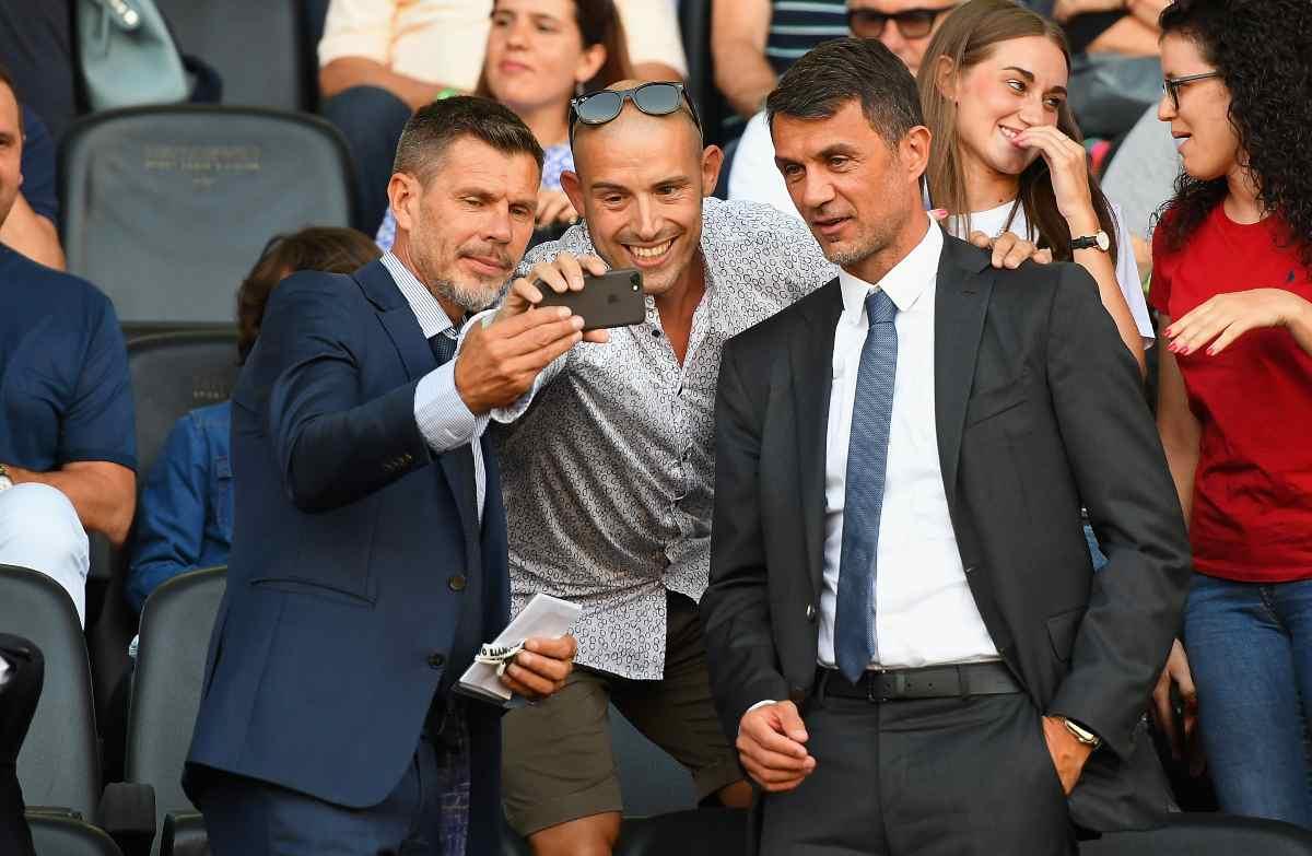 Paolo Maldini e Zvonimir Boban