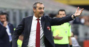 Marco Giampaolo AC Milan