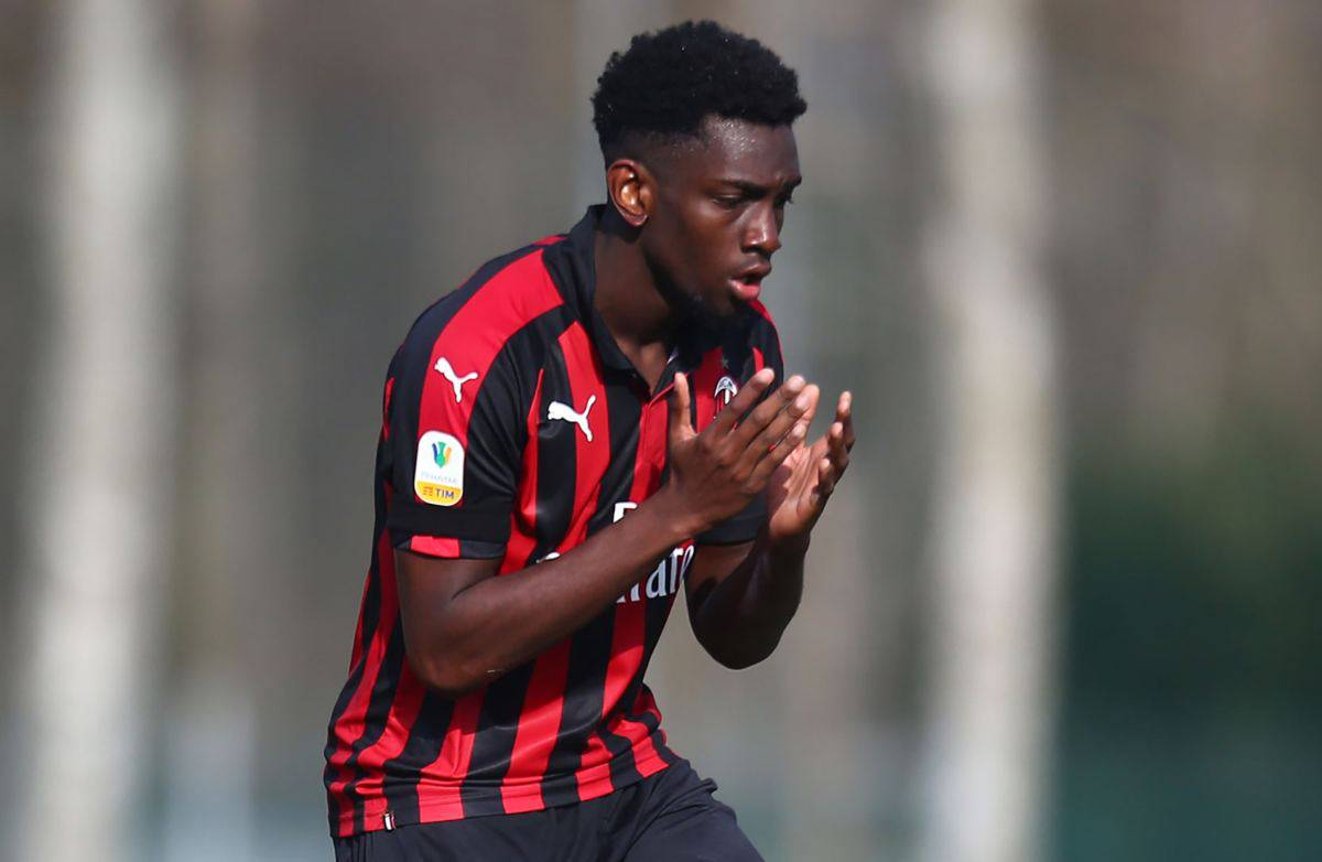 Milan, per Tsadjout primo gol con la maglia del Charleroi