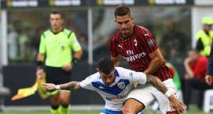 André Silva Milan-Brescia