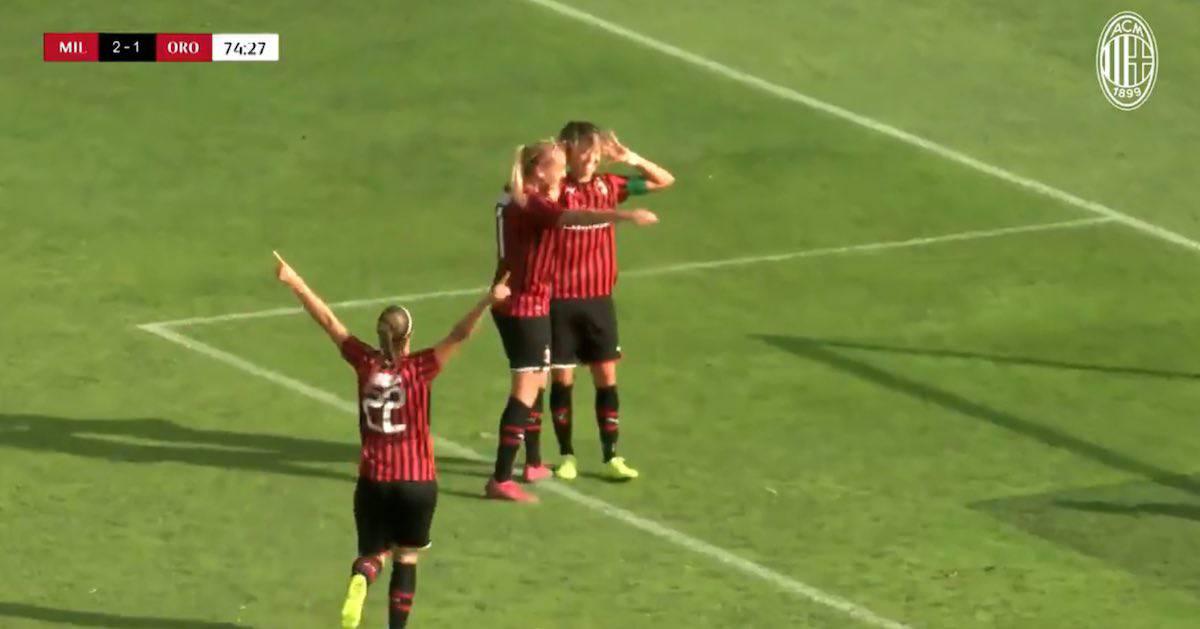 milan orobica 4-1 highlights