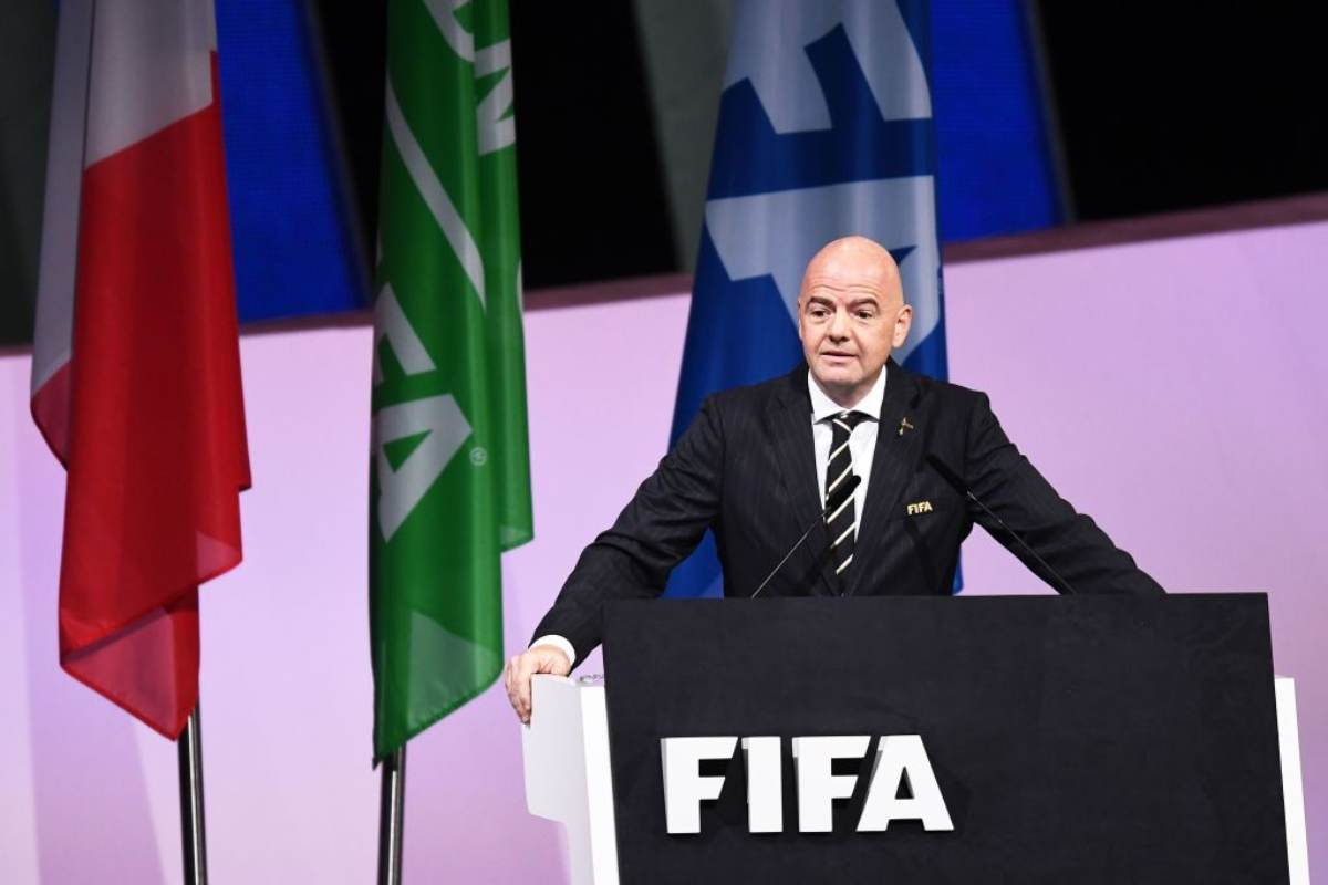 Presidente FIFA Gianni Infantino