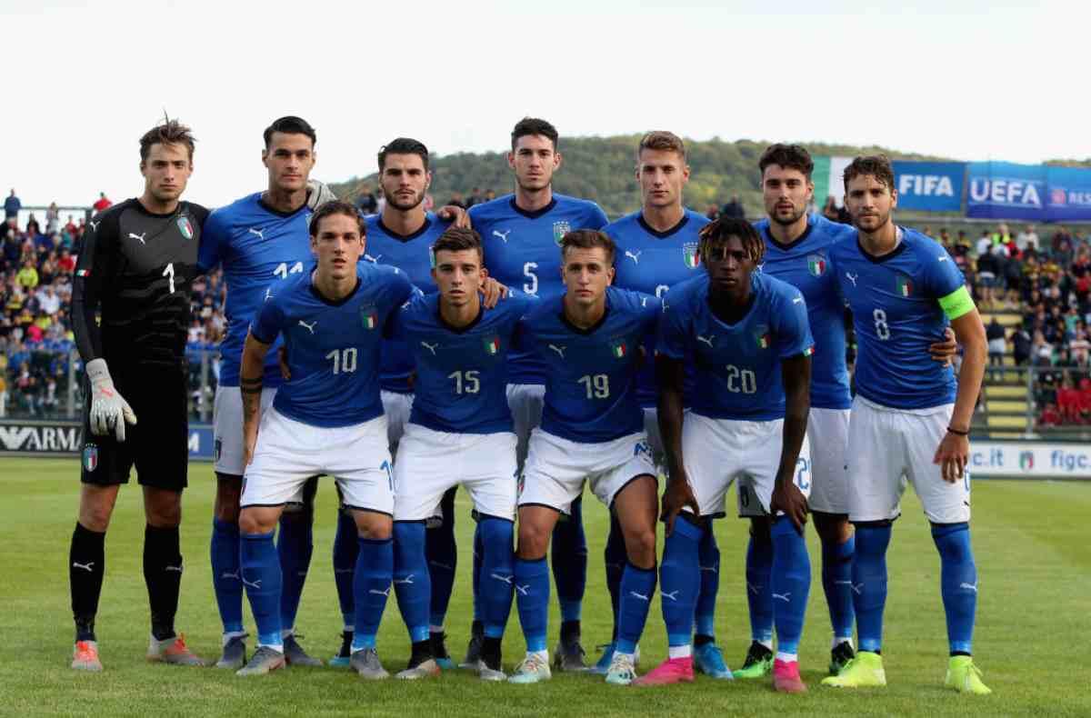 Italia under-21 Lussemburgo