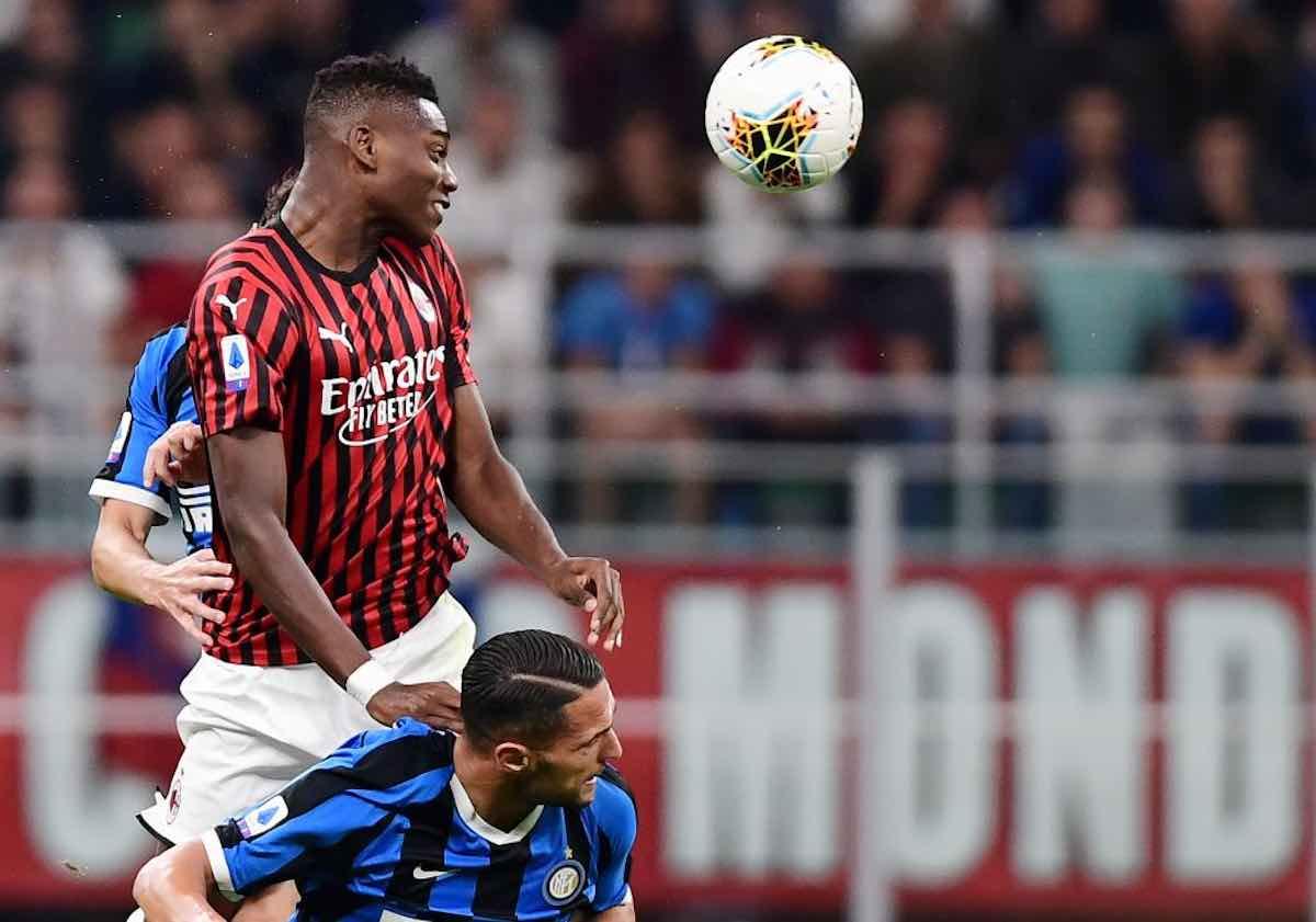 Milan Inter Leao