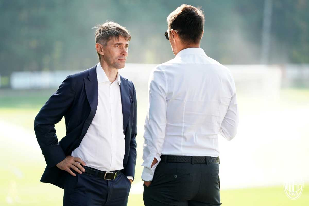 Frederic Massara Paolo Maldini Milan
