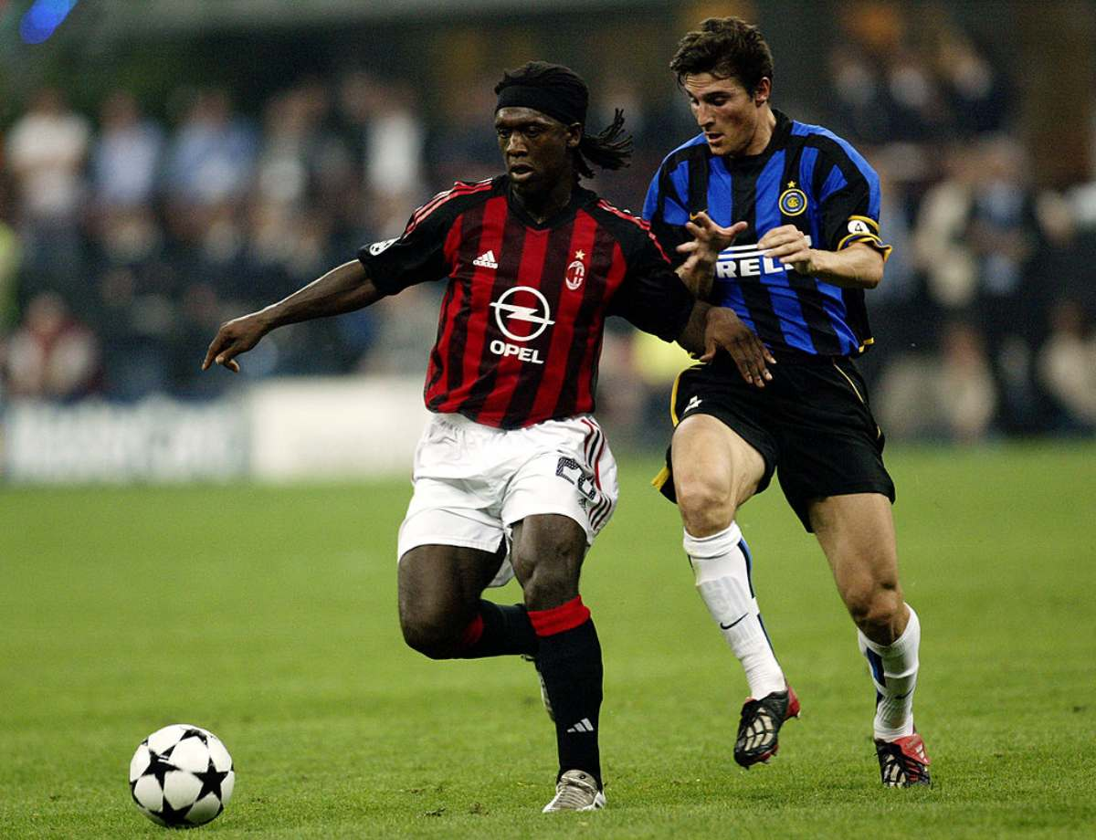 Seedorf Zanetti derby