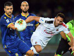 Hakan Calhanoglu Hellas Verona Milan
