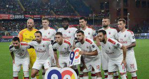 Formazione Genoa Milan