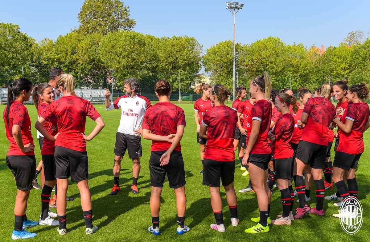 Squadra Milan Femminile Ganz