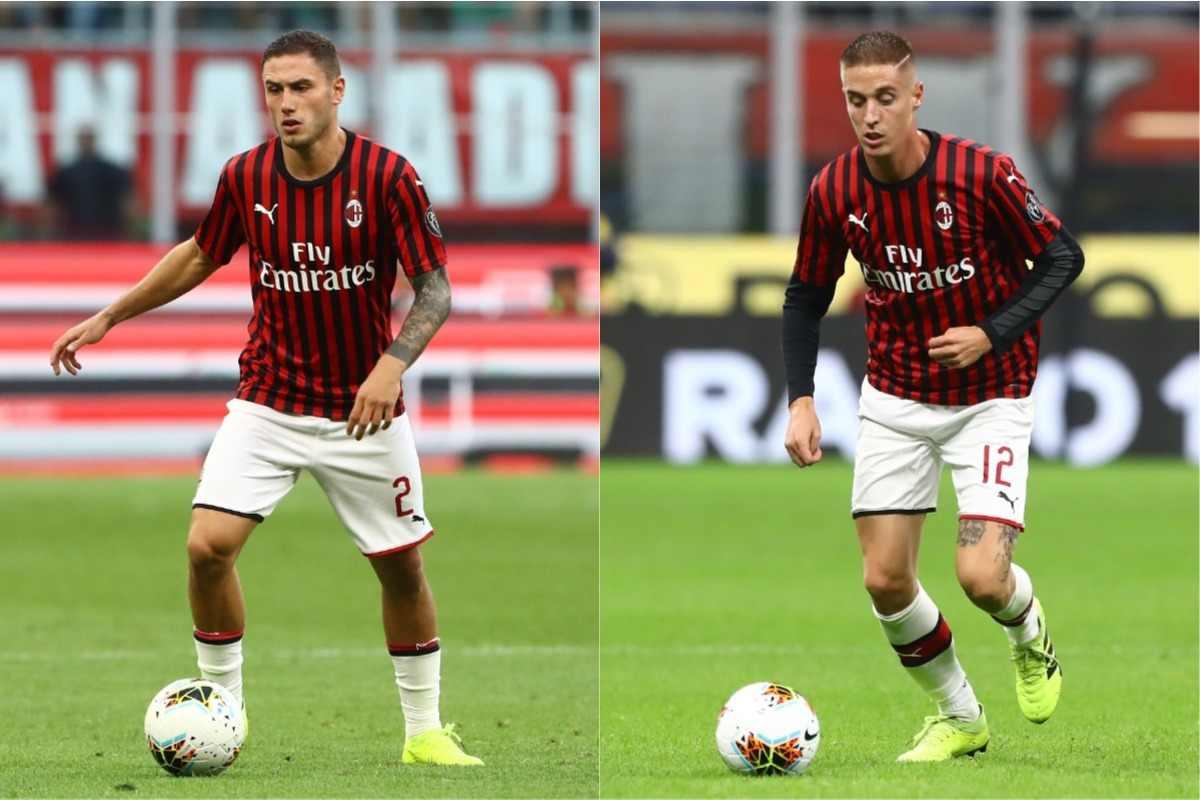 Davide Calabria Andrea Conti