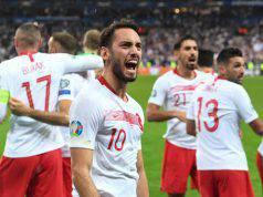calhanoglu assist in Francia-Turchia