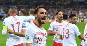 Calhanoglu Turchia qualificata Euro 2020