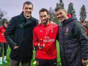 Paolo Maldini, Hakan Calhanoglu e Zvonimir Boban 100 presenze